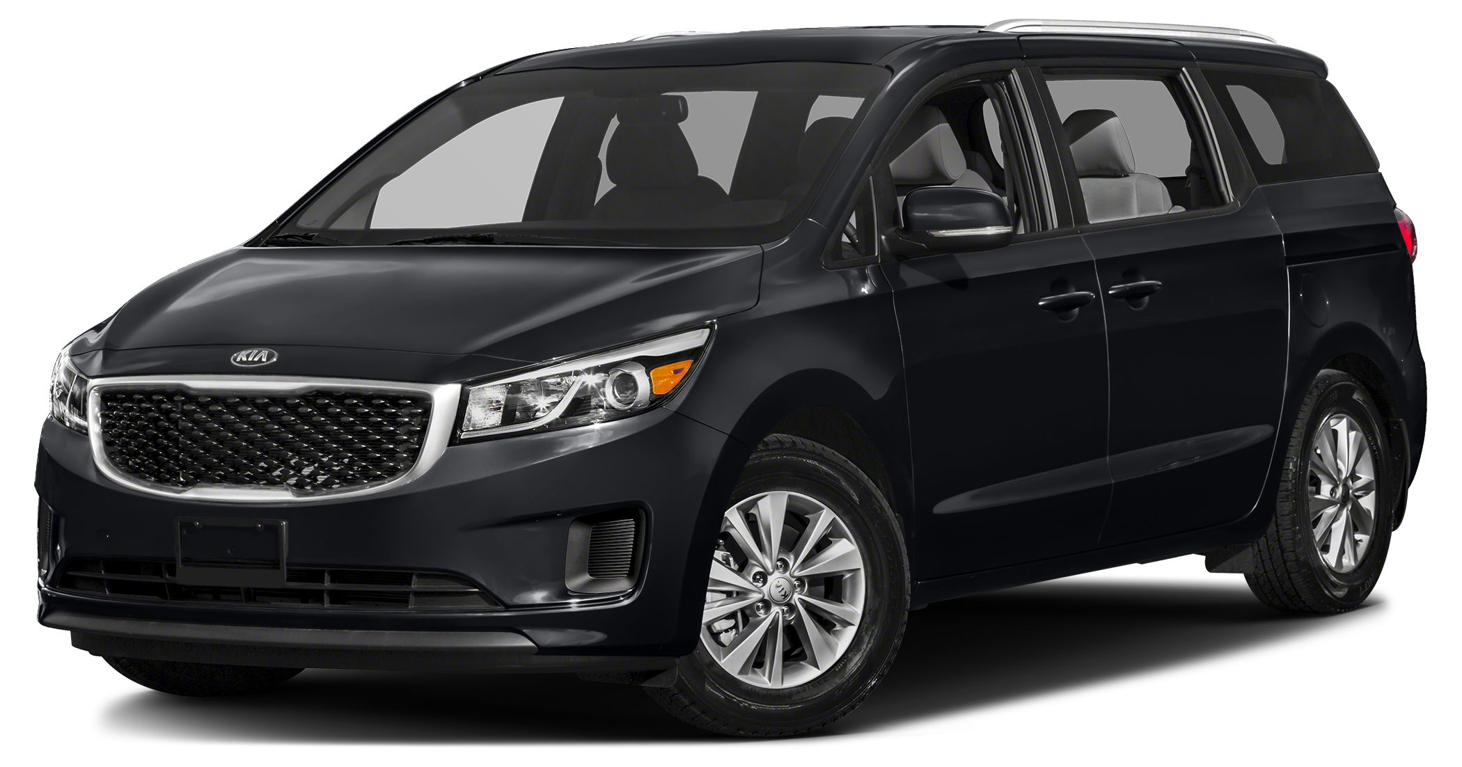 2016 Kia Sedona EX Miles 10Color Midnight Black Stock R2955 VIN KNDMC5C15G6100693