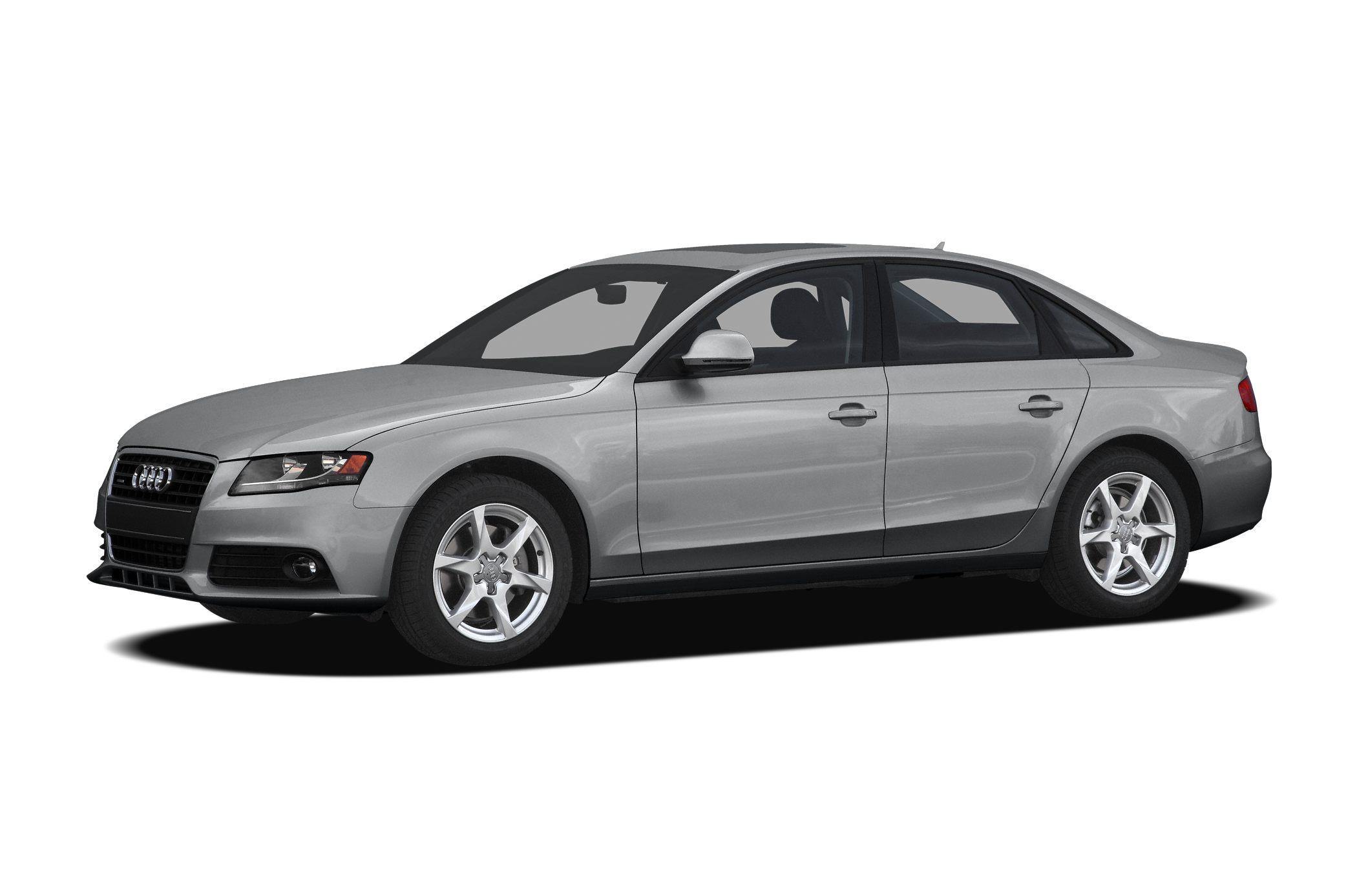 2010 Audi A4 20T quattro Premium CLEAN CARFAX REPORT  Less than 74k Miles All Wheel