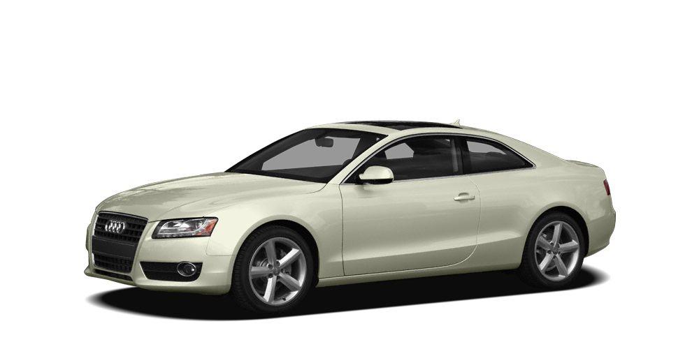 2010 Audi A5 20T quattro Premium Miles 77899Color Ibis White Stock 028253