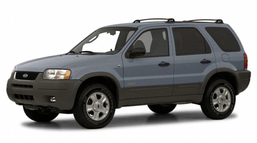 2001 Ford Escape XLT Miles 79444Color Blue Stock C3227Q VIN 1FMYU04131KF10533