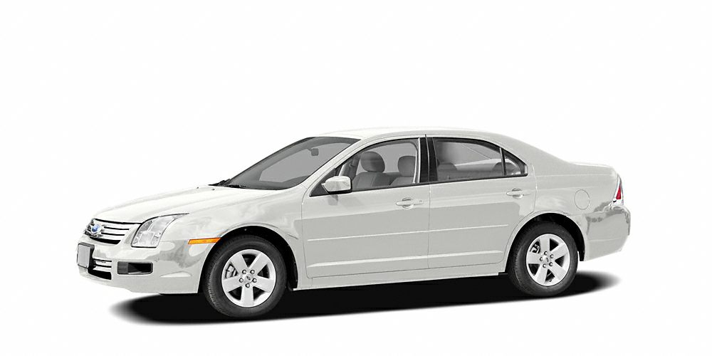 2006 Ford Fusion SE Miles 93867Color White Stock 18084R VIN 3FAFP07176R121207