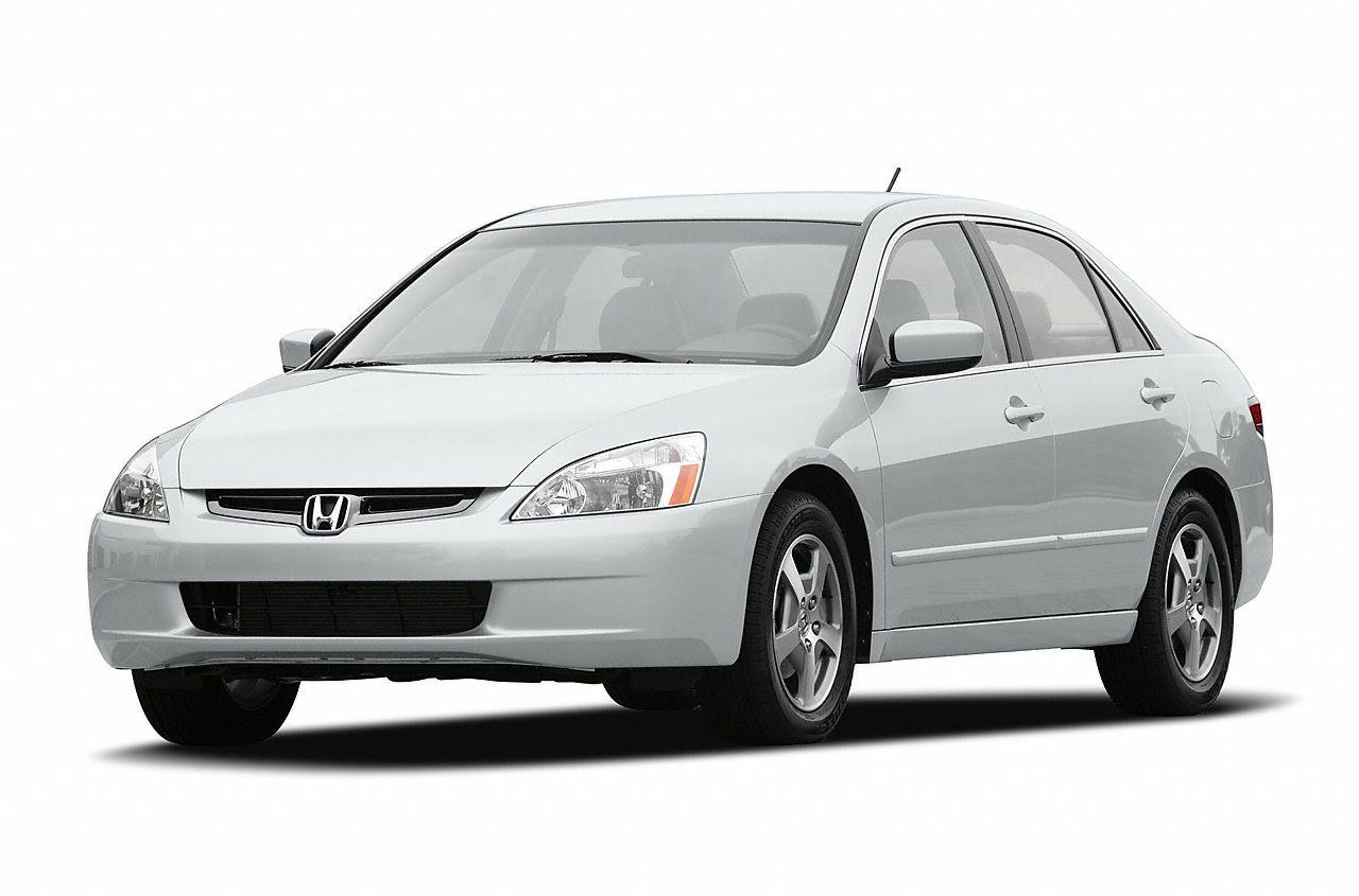 2005 Honda Accord Hybrid Base Miles 115734Color Blue Stock SB16241A VIN JHMCN36475C001189