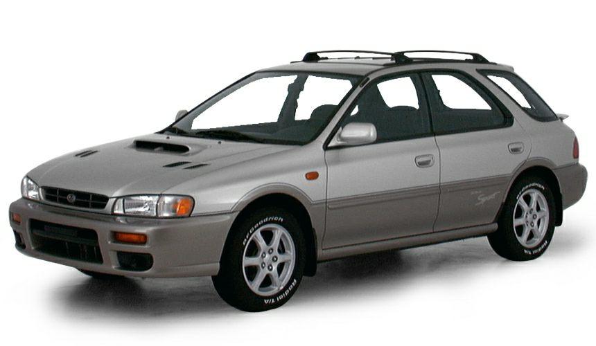 2000 Subaru Impreza L Miles 245499Color Green Stock P9882A VIN JF1GF435XYH811447