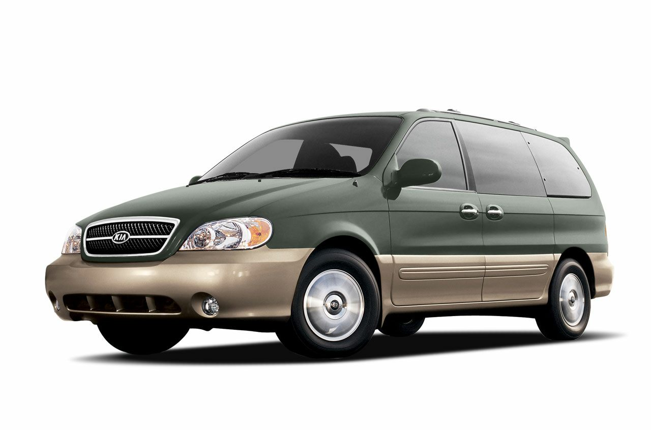 2004 Kia Sedona EX Like new Low miles mean barely used Kia has outdone itself with this superb-l