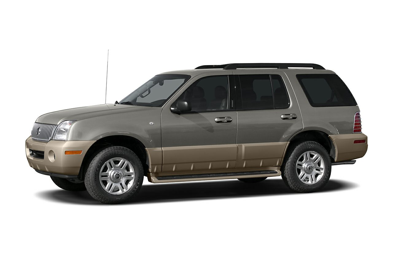 2005 Mercury Mountaineer Base Premier trim 12000 Mile Warranty 3rd Row Seat Sunroof Heated Le