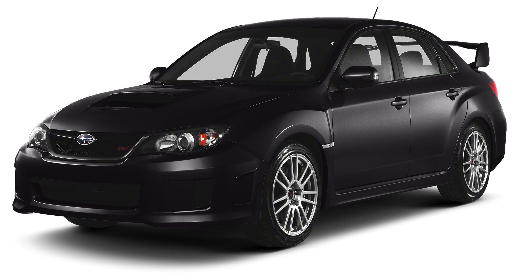 2013 Subaru Impreza WRX STi Limited Miles 18585Color Crystal Black Silica Stock 021820 VIN J