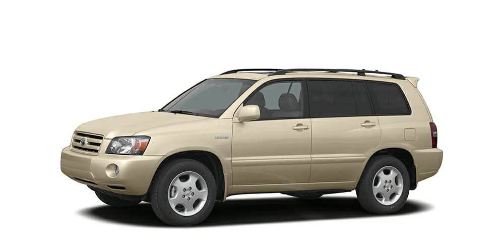 2006 Toyota Highlander  Grab a steal on this 2006 Toyota Highlander 4DR 2WD V6 AT while we have it