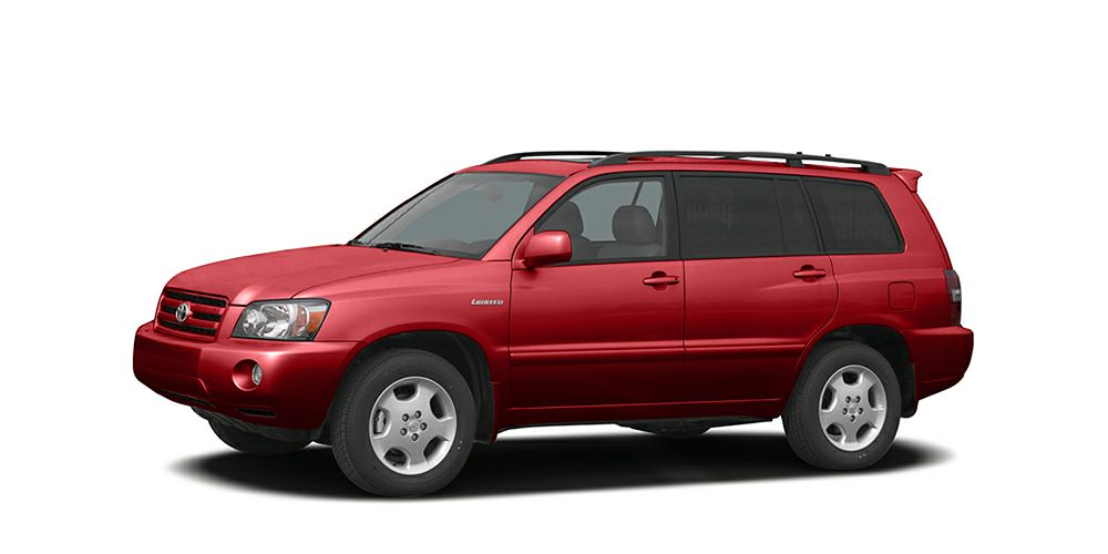 2006 Toyota Highlander  Snatch a bargain on this 2006 Toyota Highlander 4DR 2WD V6 AT before someo
