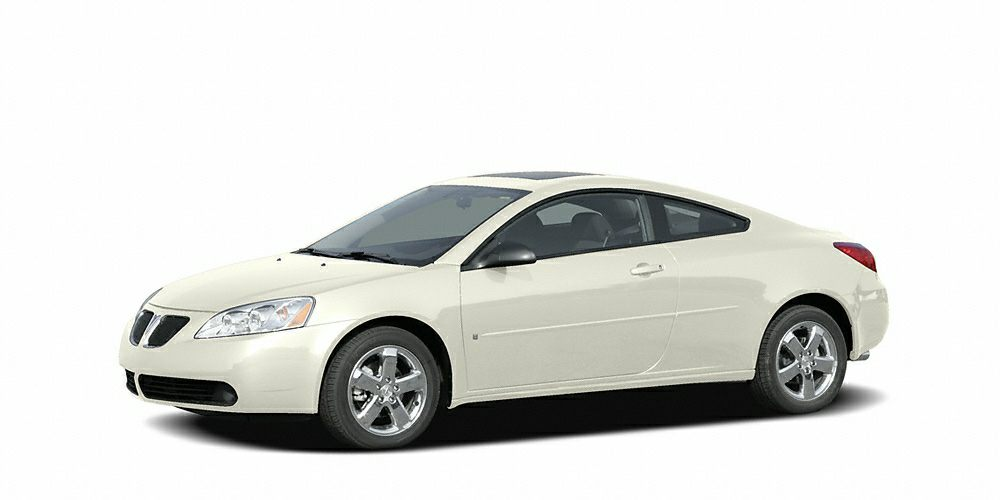 2006 Pontiac G6 GTP This 2006 Pontiac G6 2dr 2dr Coupe GTP features a 39L V6 Cylinder 6cyl Gasoli