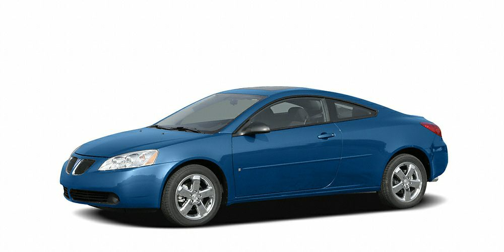 2006 Pontiac G6 GT Win a steal on this 2006 Pontiac G6 GT before its too late Spacious but agile