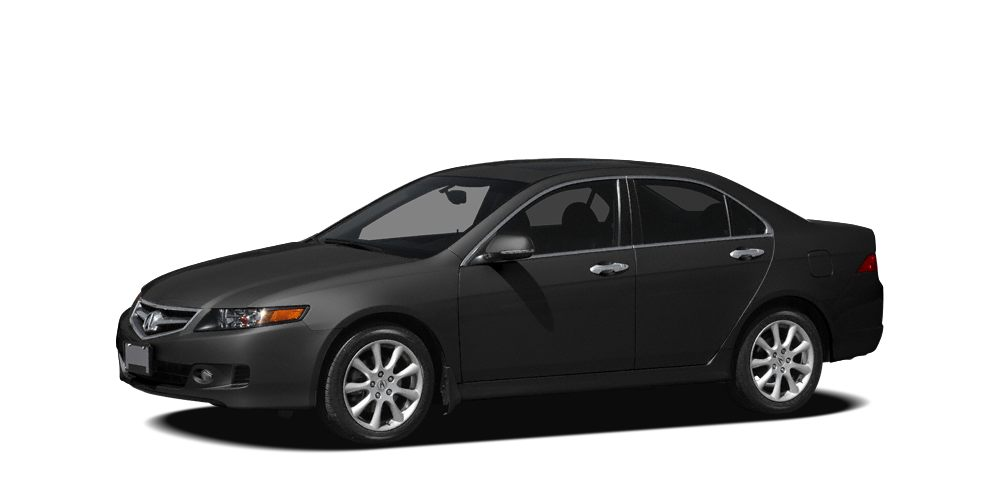 2007 Acura TSX w Navigation Miles 84190Color Nighthawk Black Pearl Stock 1698A VIN JH4CL9697