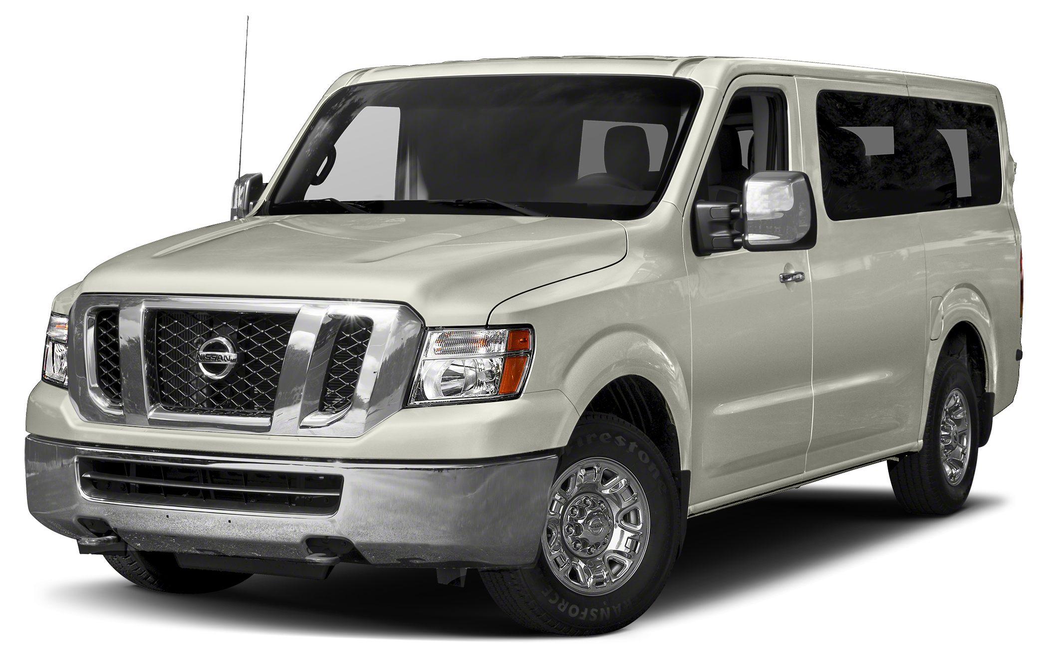 2014 Nissan NV Passenger NV3500 HD SL Color White Stock N22267 VIN 5BZAF0AAXEN162478