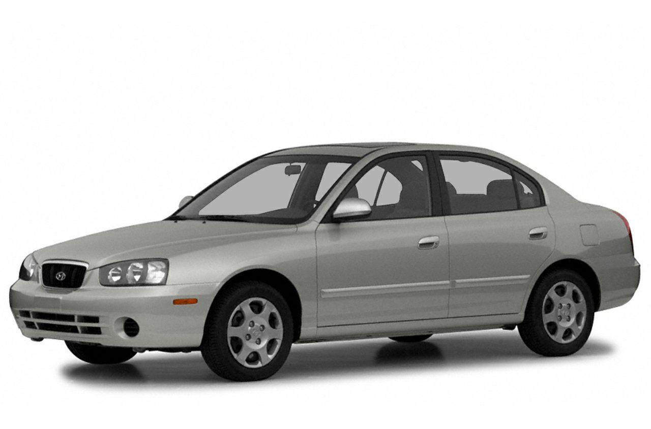 2003 Hyundai Elantra  Miles 135549Color Red Stock P0902A VIN KMHDN45D03U497002