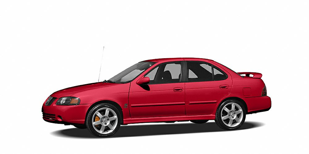 2005 Nissan Sentra SE-R Spec V One of the original factory rocket cars Coming with a 6 speed manu