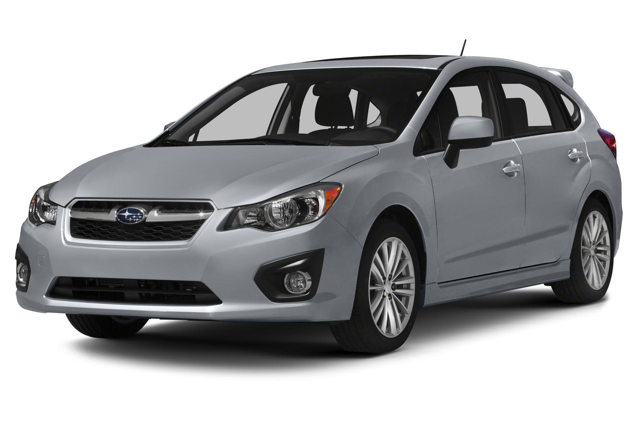 2014 Subaru Impreza 20i Premium Vehicle Options 4WDAWD Electronic Brake Assistance Second Row Fo
