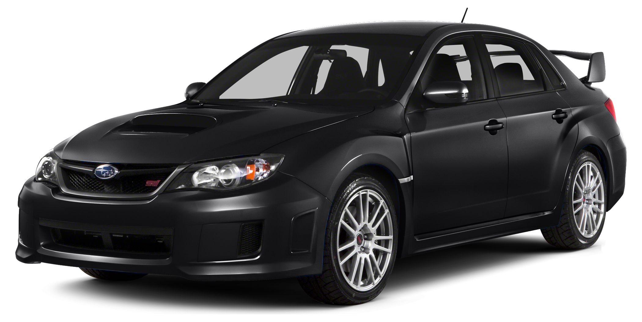 2014 Subaru Impreza WRX STi Miles 10215Color Crystal Black Silica Stock 1821 VIN JF1GV8J63EL