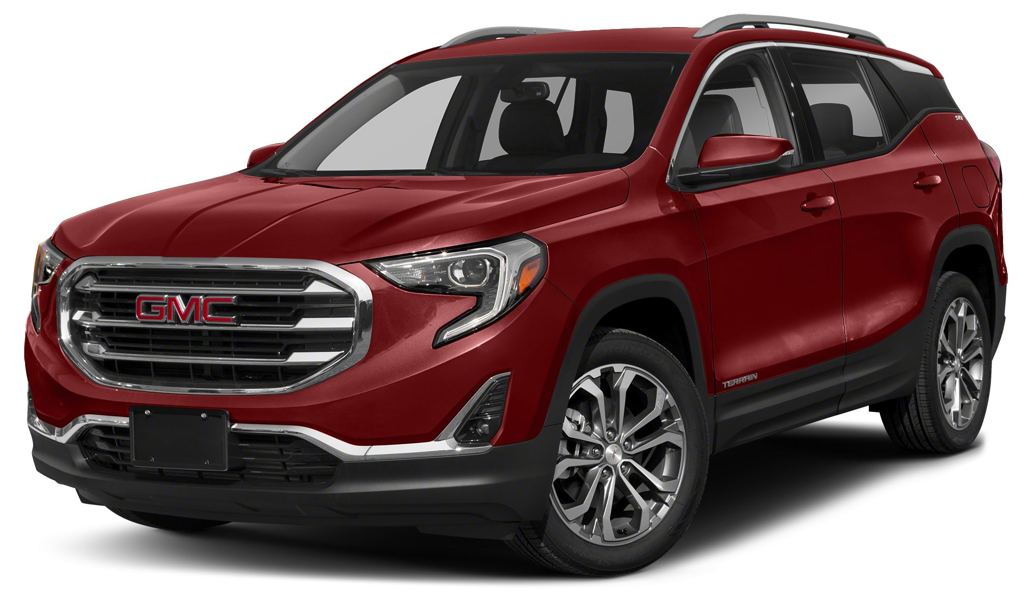 2018 GMC Terrain SLT From its striking C-shaped LED signature lighting to its stunning floating ro