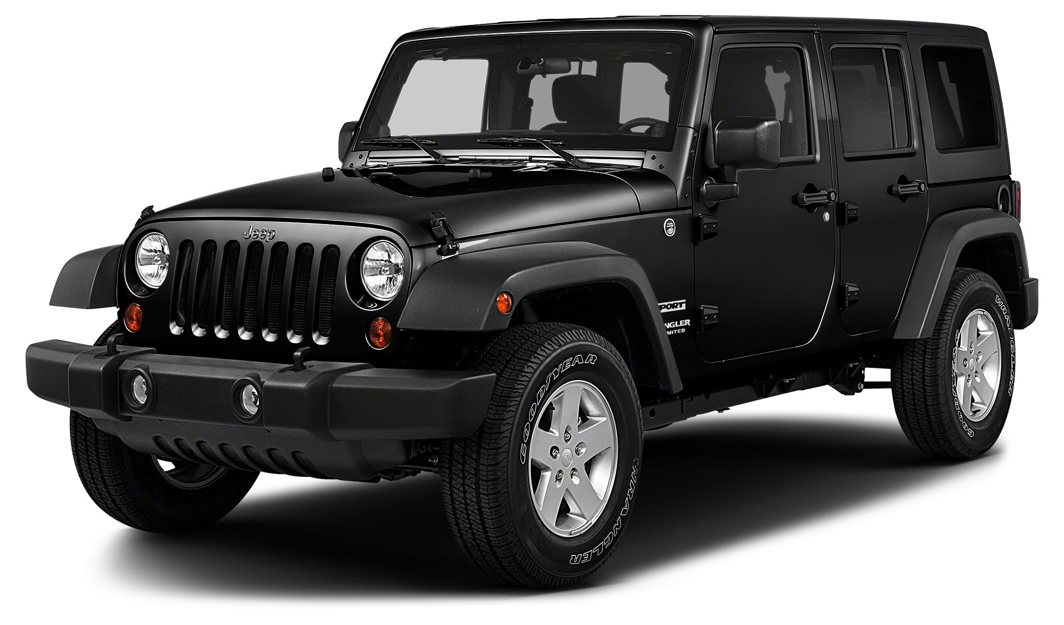 2015 Jeep Wrangler Unlimited Sport Miles 44708Color Black Clearcoat Stock 955 VIN 1C4BJWDG8F