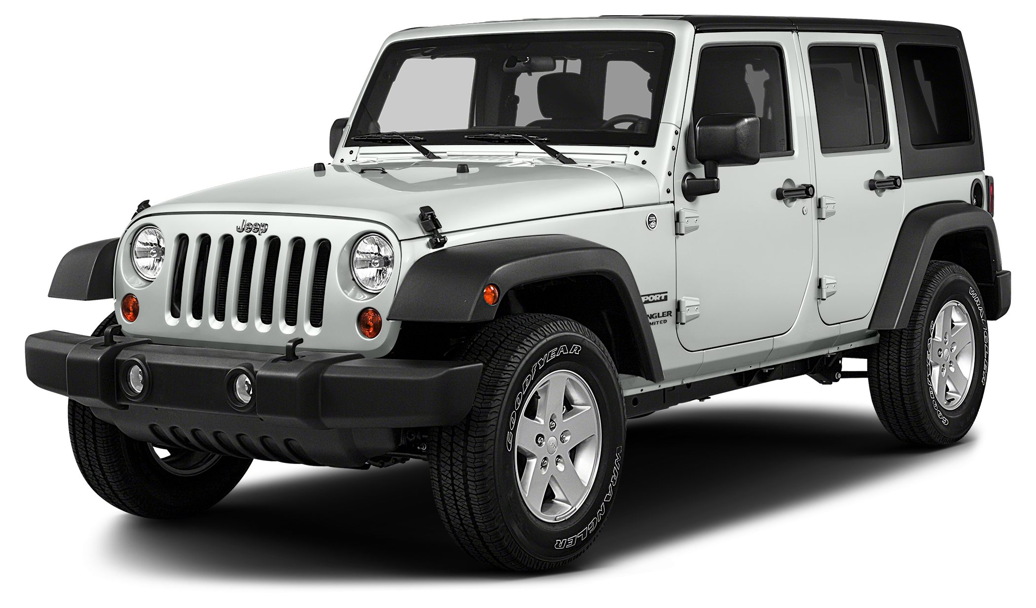 2018 Jeep Wrangler JK Unlimited Sport Miles 4Color Bright White Clearcoat Stock JW2829 VIN 1