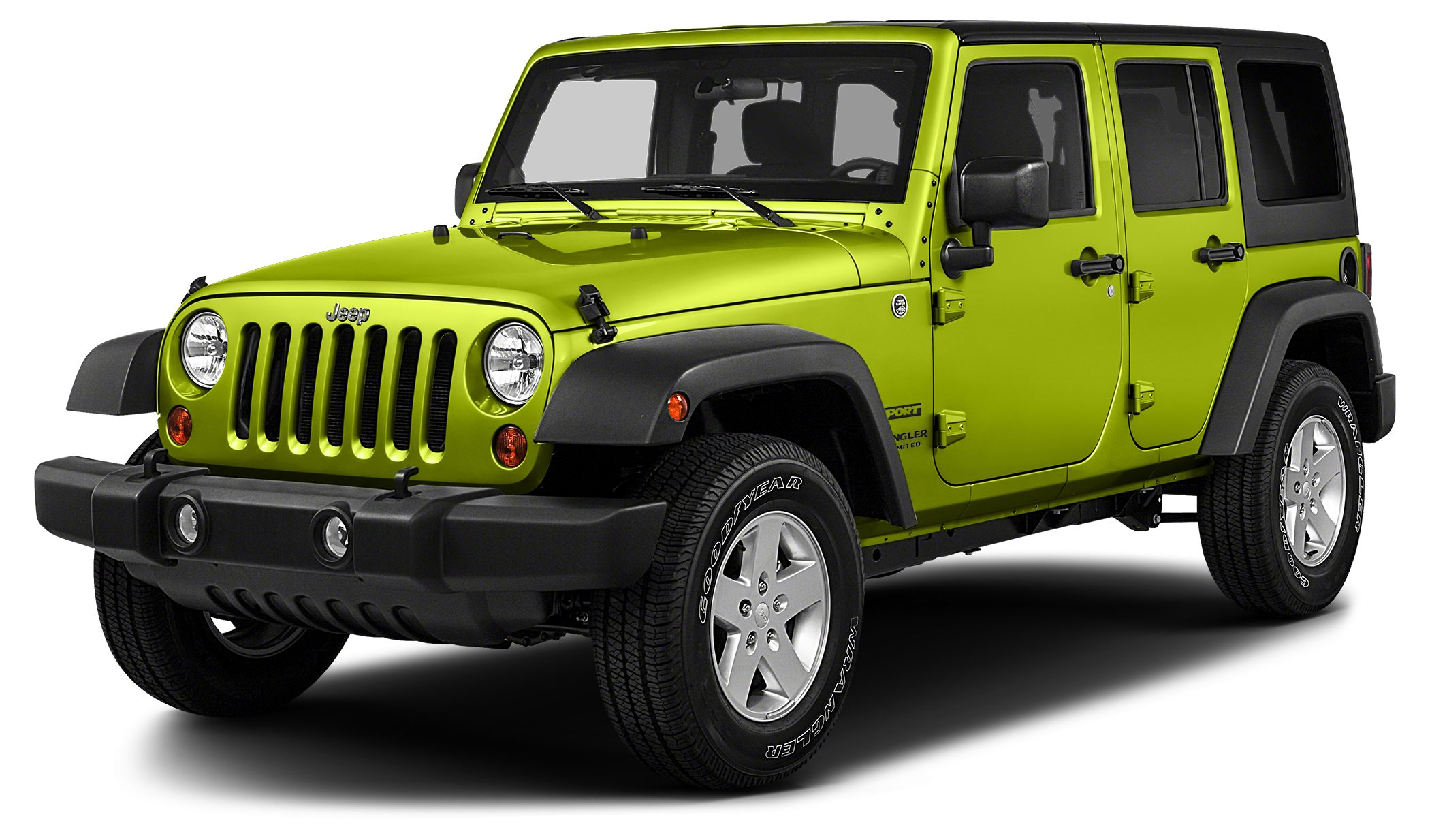 2016 Jeep Wrangler Unlimited Sport Miles 48951Color Hypergreen Clearcoat Stock 952 VIN 1C4BJ