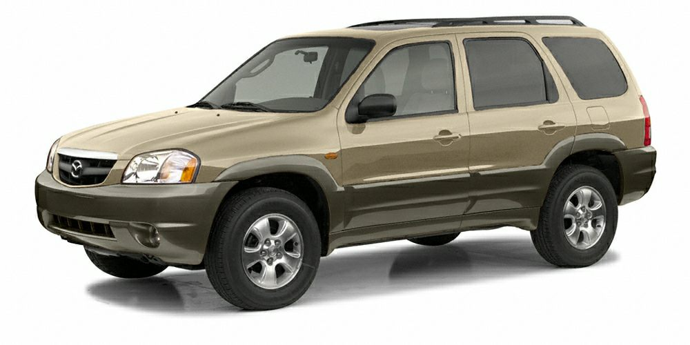 2002 Mazda Tribute ES ONLY 36340 Miles Tribute ES trim Leather Interior 4x4 CD Player Alumin
