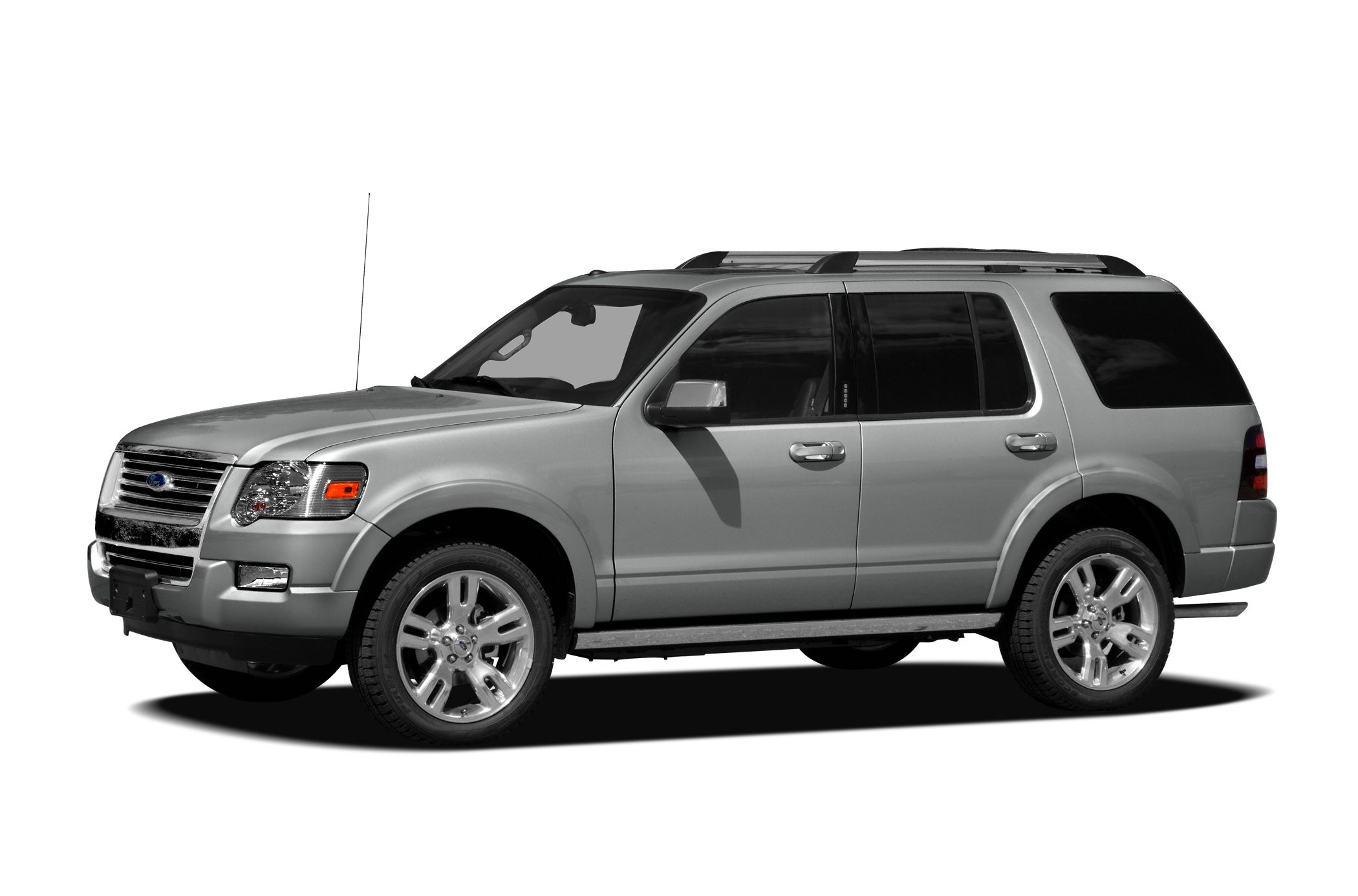 2009 Ford Explorer Eddie Bauer Keeps outside noise outside Noise-pollution-free zone inside the t