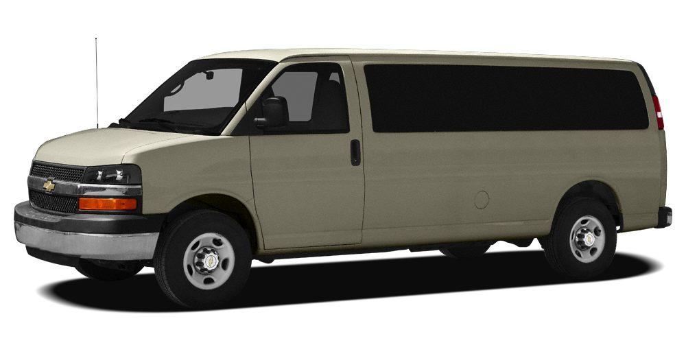 2010 Chevrolet Express 3500 LS Miles 109047Color Sandstone Metallic Stock 20777A VIN 1GA2GZD