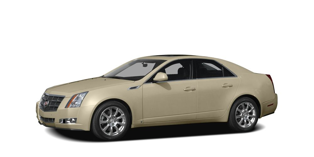2008 Cadillac CTS Base Odometer is 50816 miles below market average Miles 51626Color Gold Sto