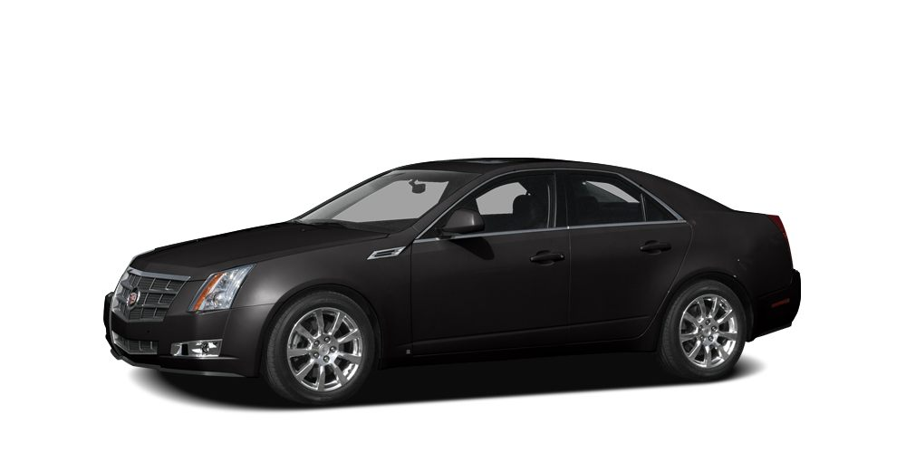 2008 Cadillac CTS Base CARFAX 1-Owner Heated Leather Seats Moonroof Navigation SUNROOF POWER