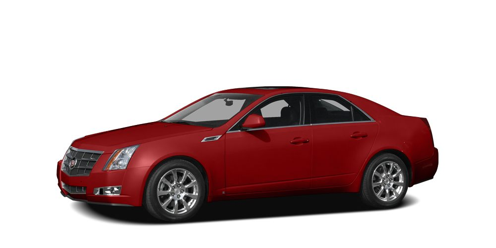 2008 Cadillac CTS Base Miles 0Color Red Stock CAD14213A VIN 1G6DT57V580140244