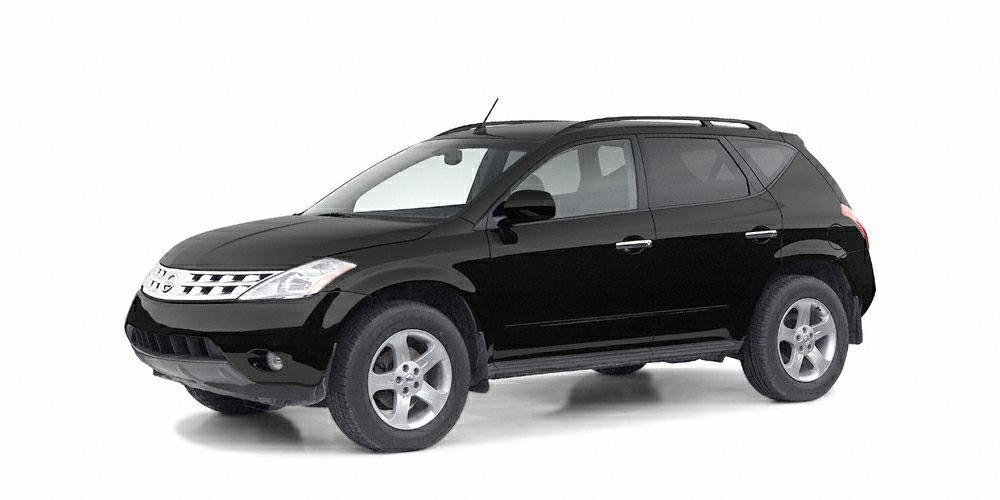 2005 Nissan Murano  Miles 150788Color Super Black Clearcoat Stock ZT328128 VIN JN8AZ08T75W32
