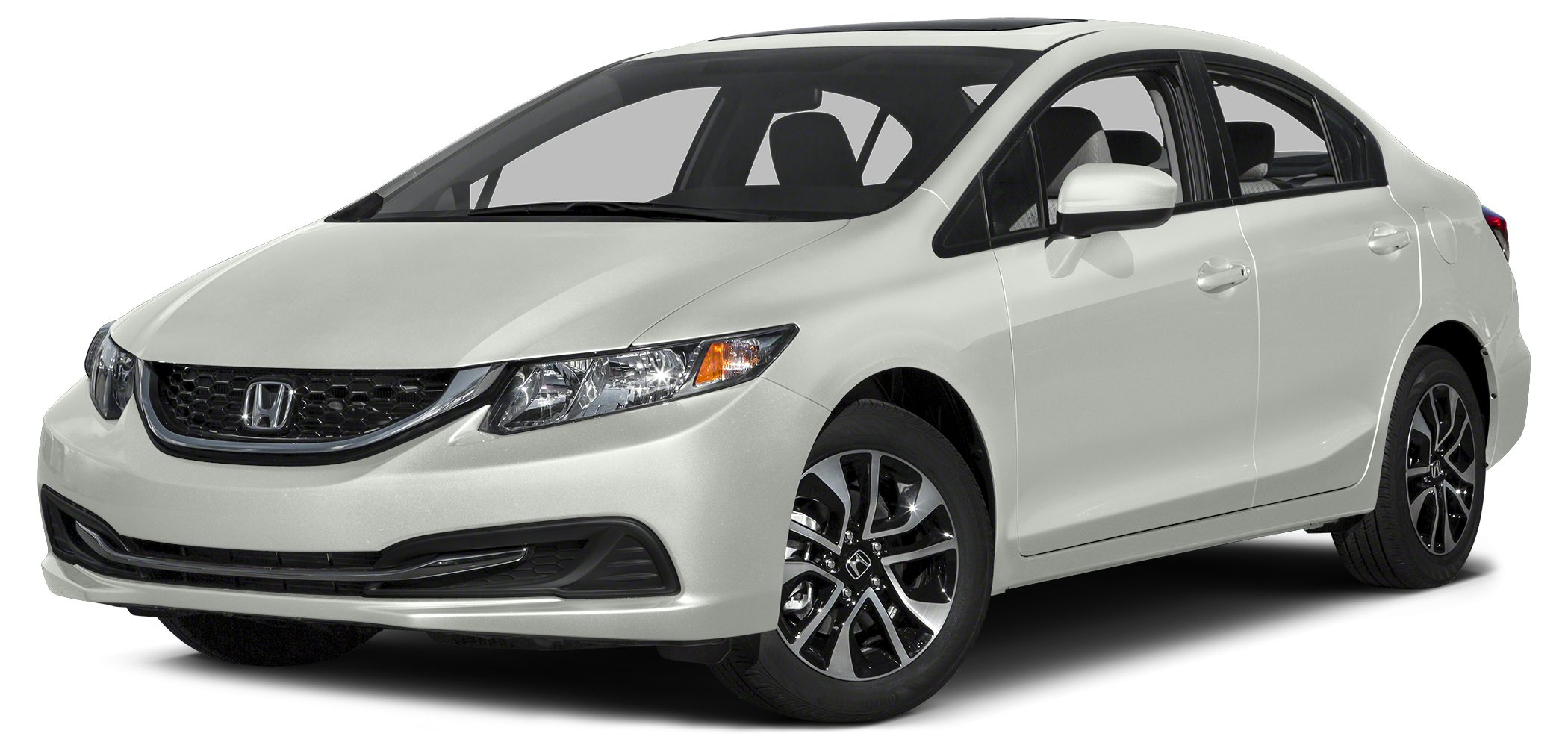 2015 Honda Civic EX The gas savings gives hybrids a run for their money Manages Mileage Masterful