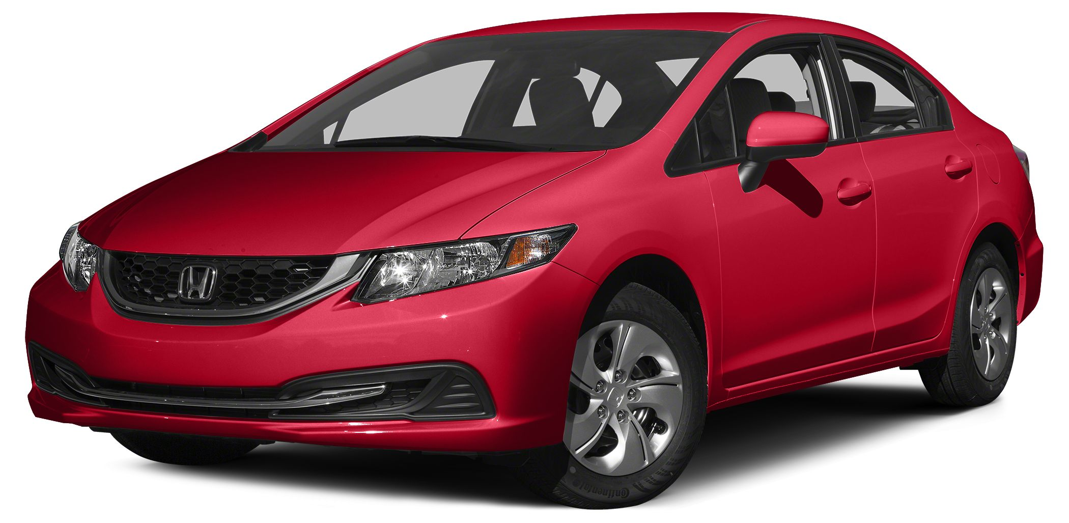 2015 Honda Civic LX Miles 2493Color Red Stock 15S93A VIN 19XFB2F56FE068578