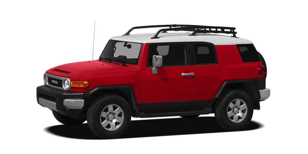 2012 Toyota FJ Cruiser Base CARFAX 1-Owner ONLY 34725 Miles FJ Cruiser trim RADIANT RED exteri