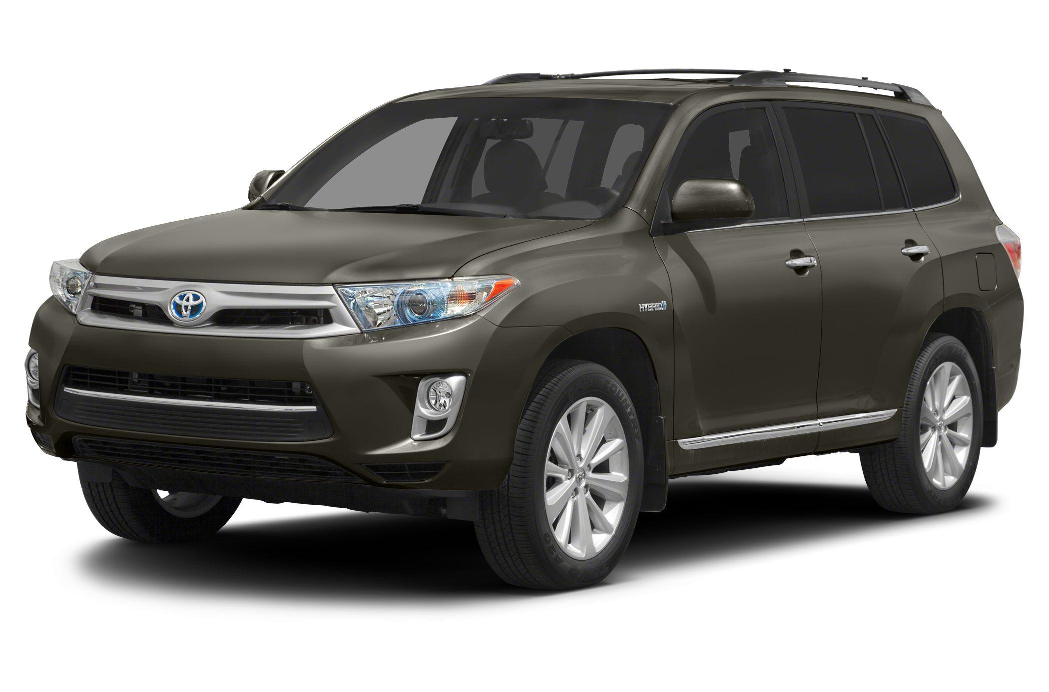 2012 Toyota Highlander Hybrid Limited CARFAX 1-Owner ONLY 21410 Miles EPA 28 MPG Hwy28 MPG Cit