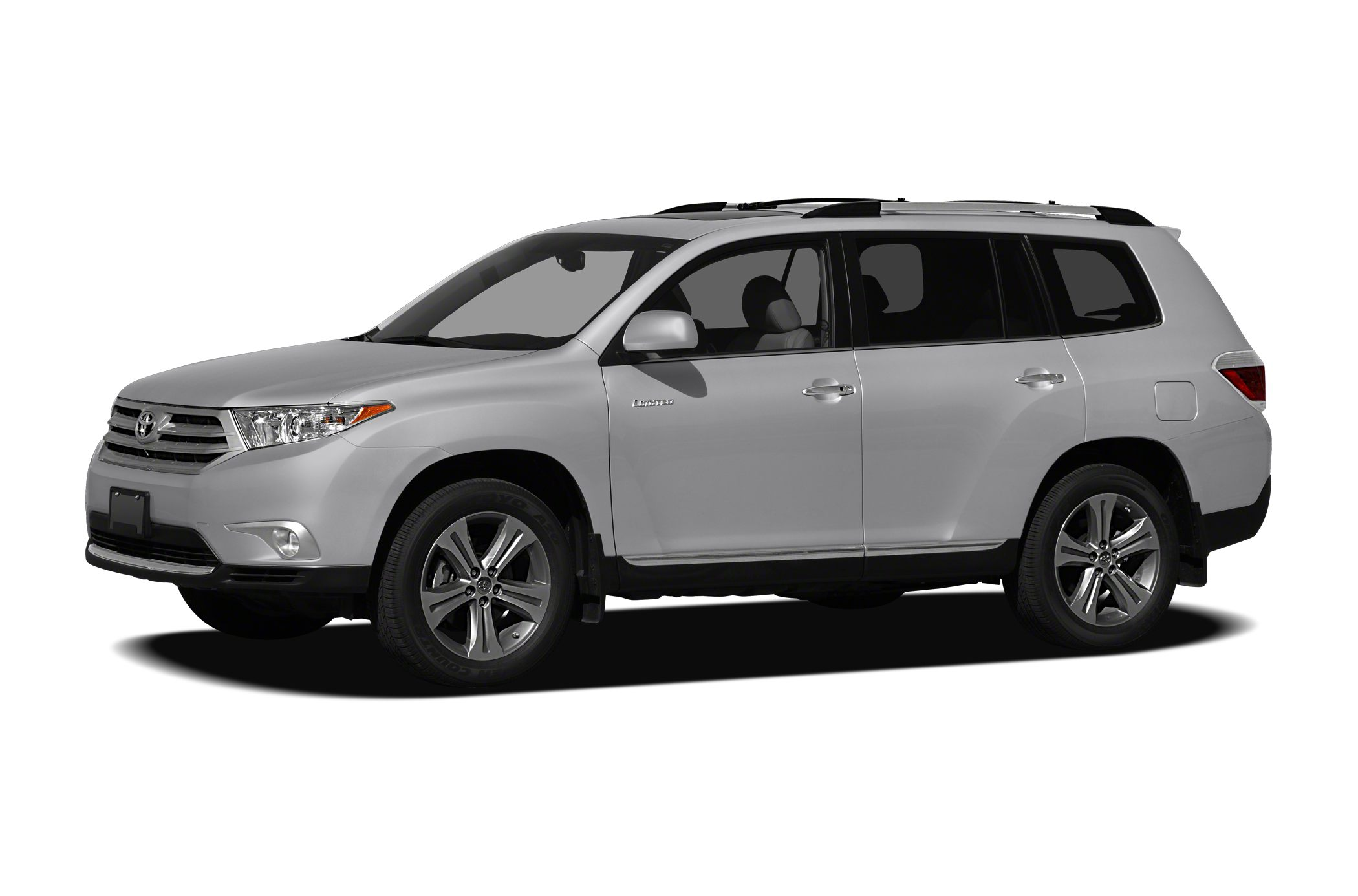2012 Toyota Highlander SE CARFAX 1-Owner SE trim 3rd Row Seat Sunroof Heated Leather Seats Rea