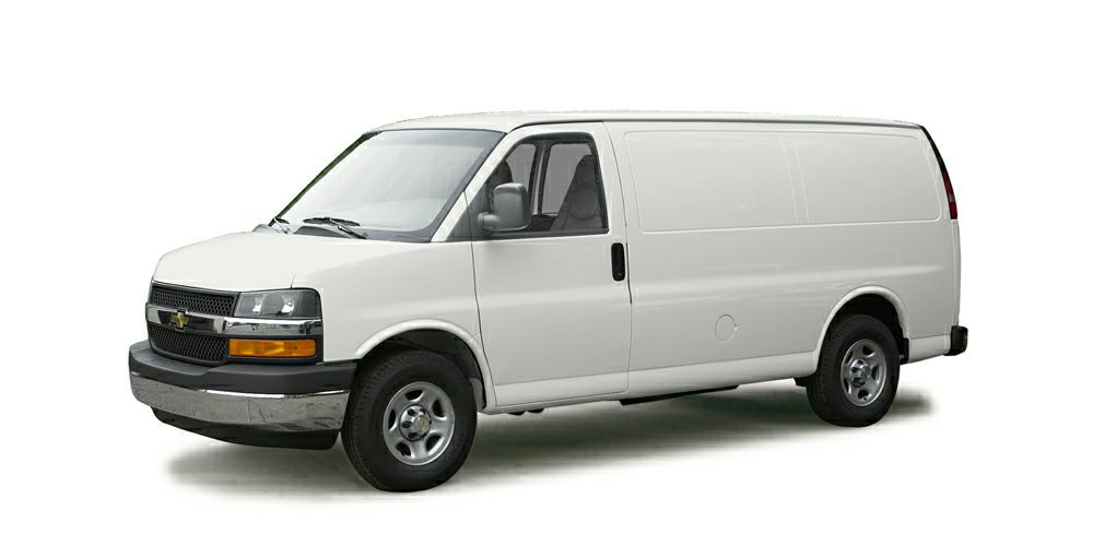 2005 Chevrolet Express 2500 Cargo Color White Stock F16NV269A VIN 1GCGG25V951101548