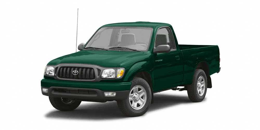 2003 Toyota Tacoma Base Clean CARFAX Green 2003 Toyota Tacoma  24L I4 MPI DOHC  OVER 2500 OFF