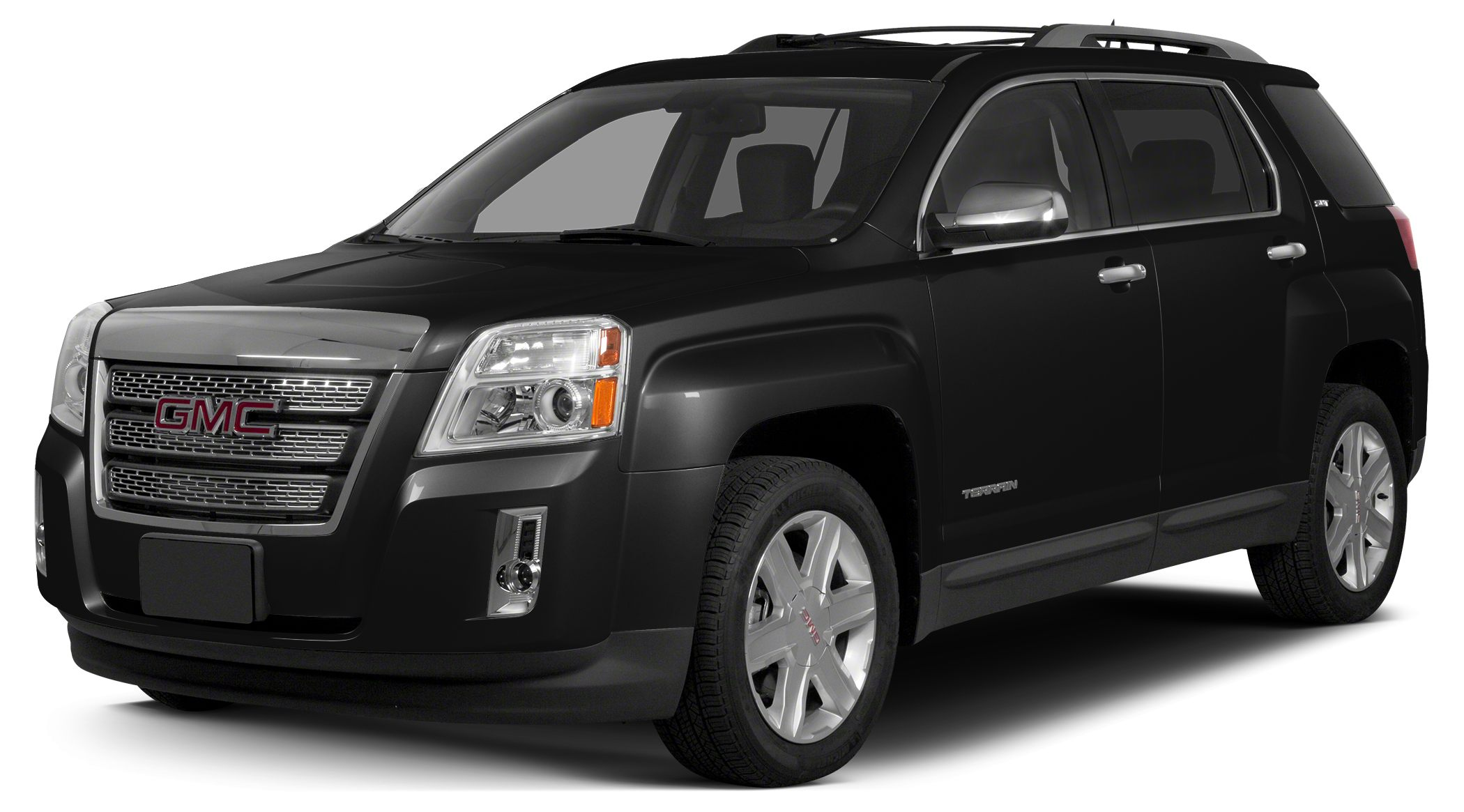 2015 GMC Terrain SLT-2 CARFAX 1-Owner FUEL EFFICIENT 32 MPG Hwy22 MPG City Moonroof Heated Lea
