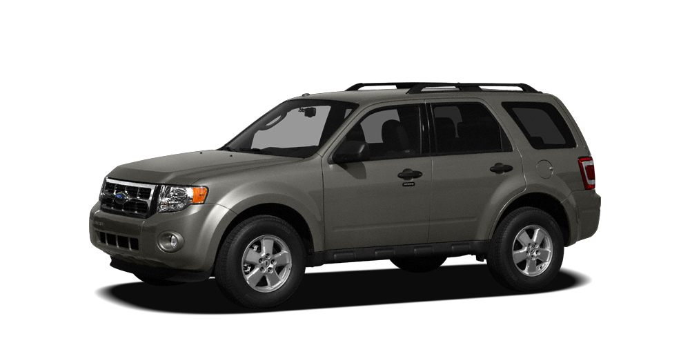 2009 Ford Escape XLT Sterling Grey Metallic exterior and Charcoal interior CARFAX 1-Owner FUEL E
