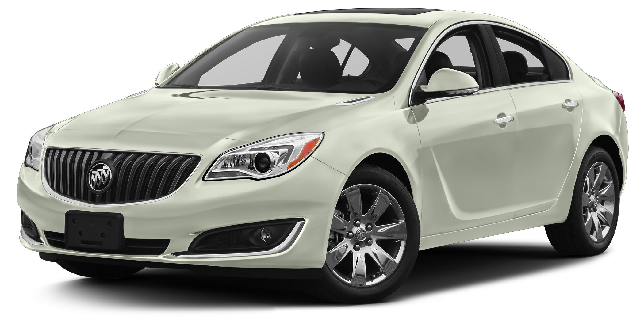 2016 Buick Regal Turbo Premium II Miles 1Color White Frost Tricoat Stock RE6041 VIN 2G4GS5GX