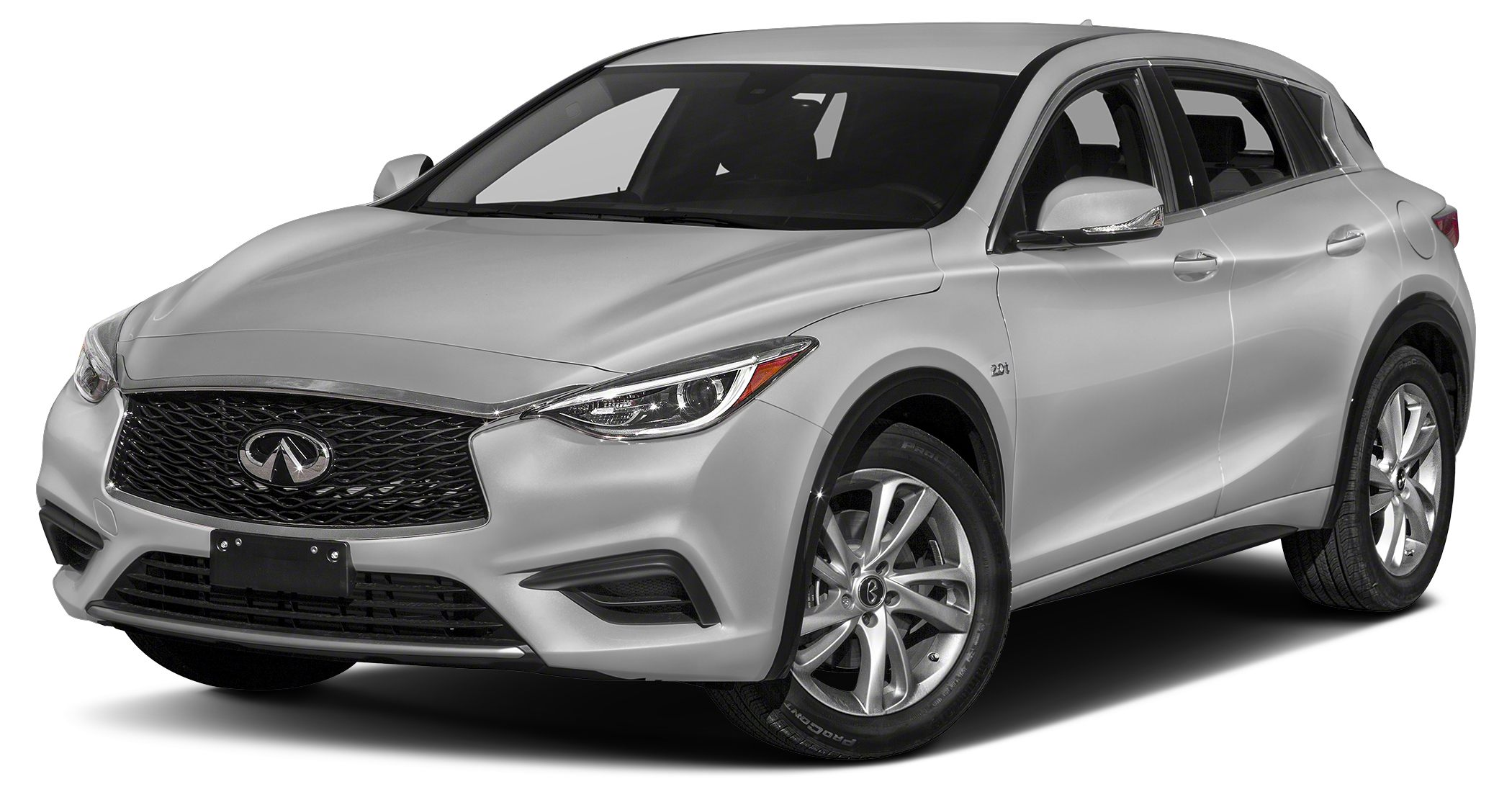 2018 INFINITI QX30 Luxury Only 9992 Miles Delivers 30 Highway MPG and 21 City MPG This INFINITI