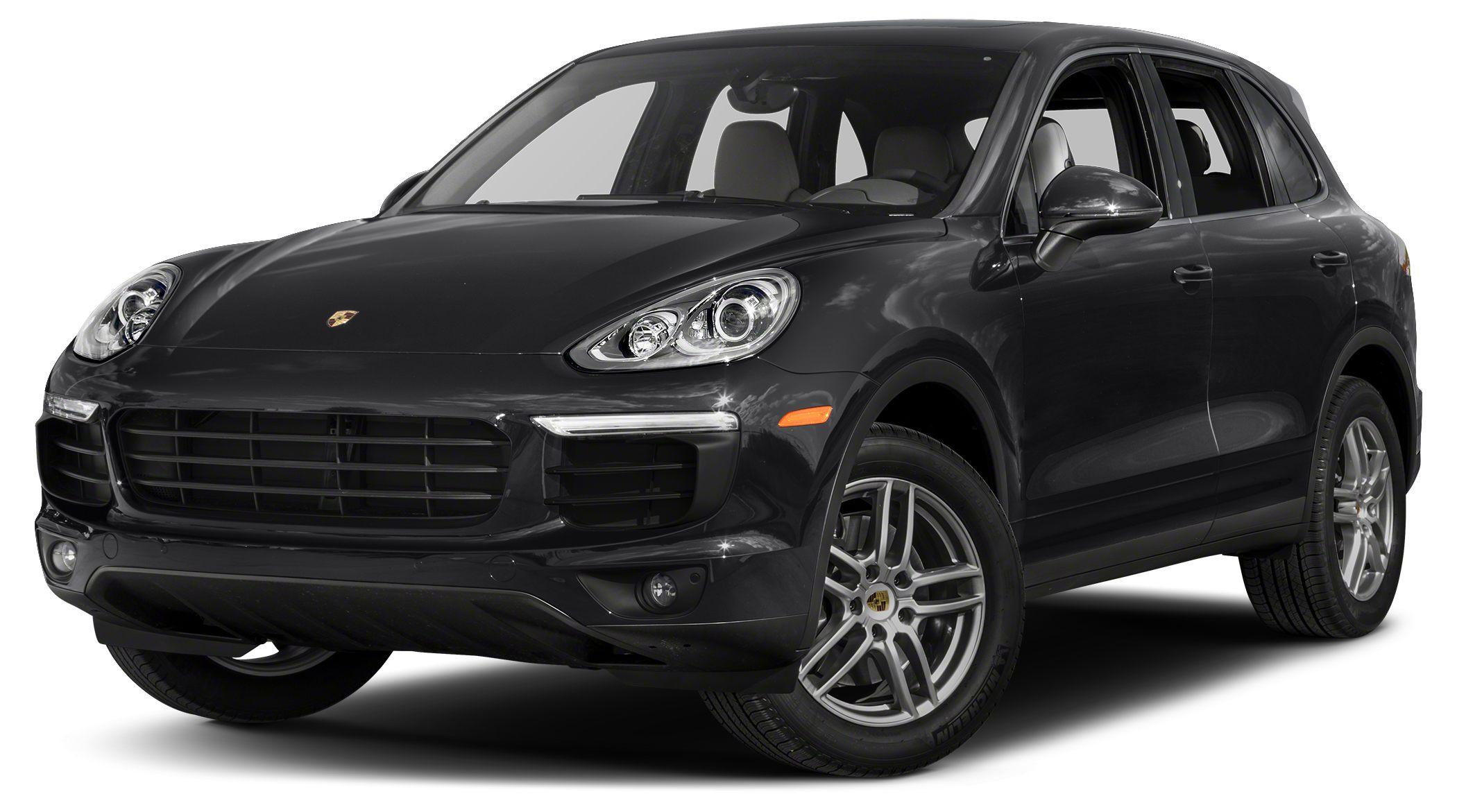 2016 Porsche Cayenne Diesel Get ready to ENJOY Move quickly CLEAN CARFAX Are you still d
