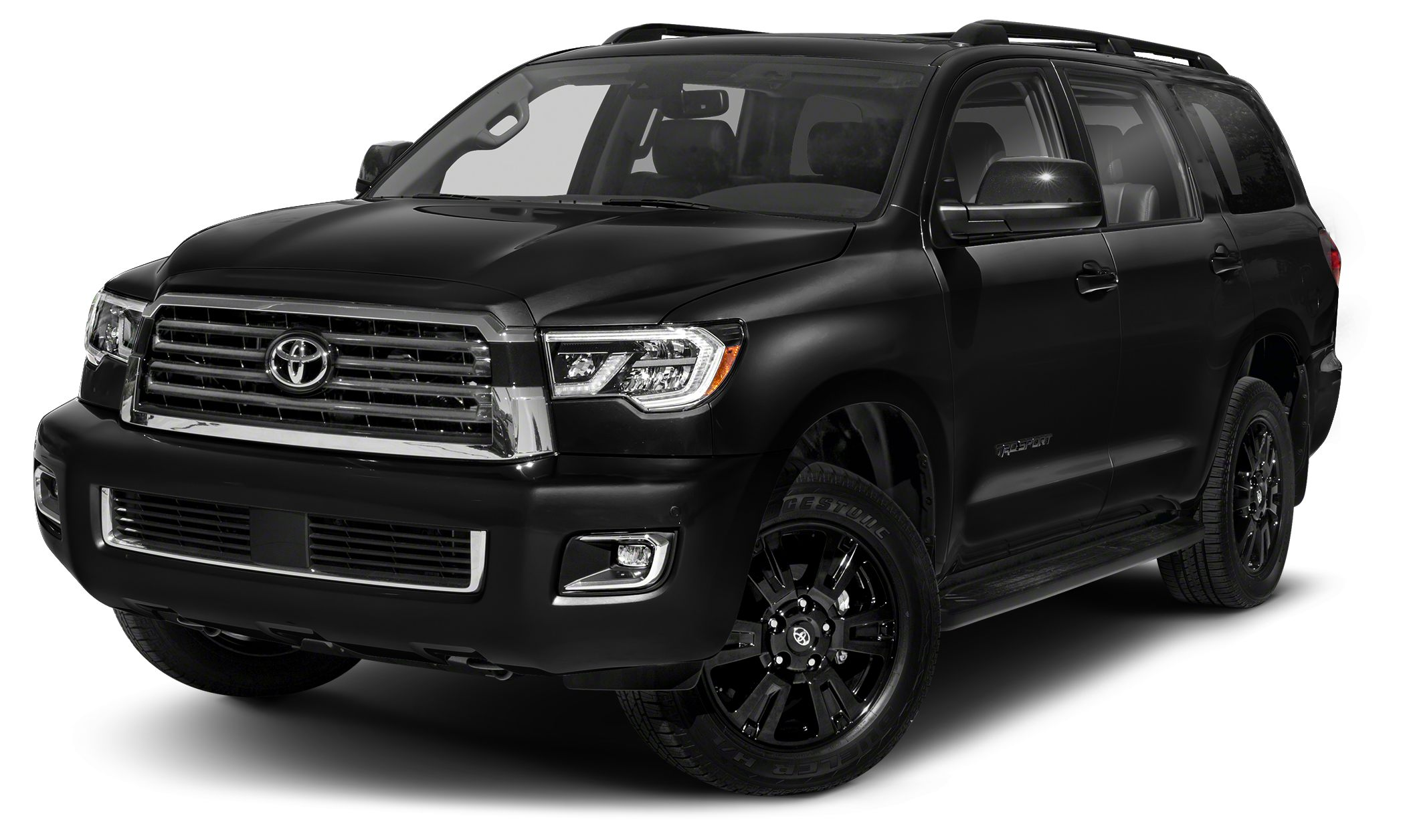 2018 Toyota Sequoia TRD Sport Boasts 17 Highway MPG and 13 City MPG This Toyota Sequoia delivers