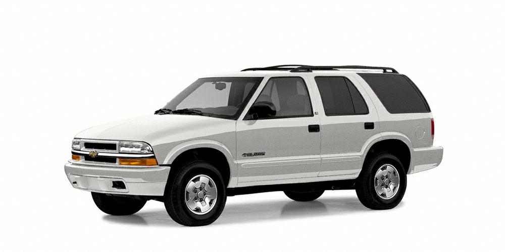 2004 Chevrolet Blazer LS Miles 136346Color Summit White Stock 117003A VIN 1GNDT13X04K148111