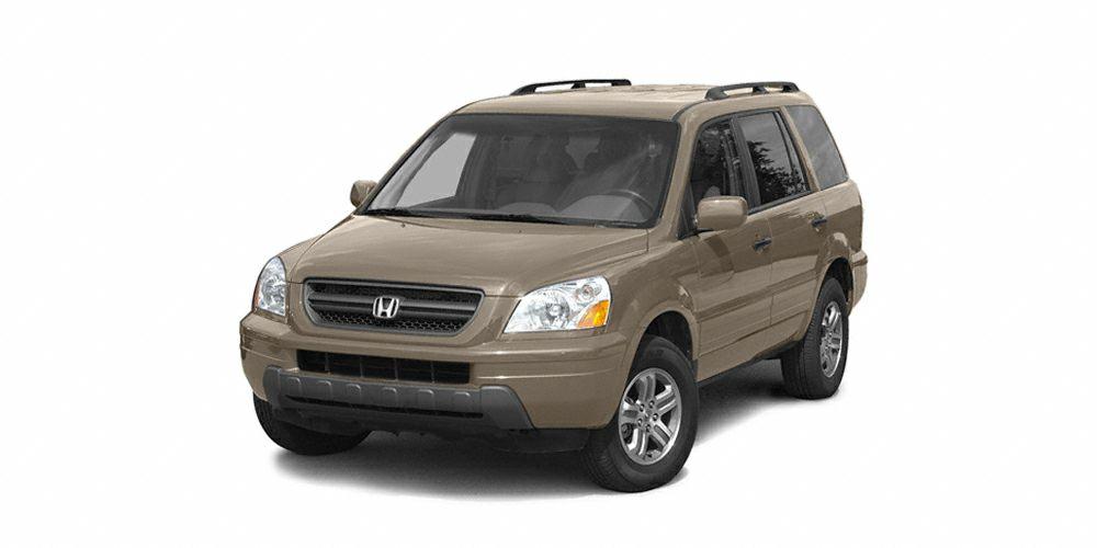 2005 Honda Pilot EX-L w RES Miles 169929Color Desert Rock Metallic Stock 070007A VIN 5FNYF1