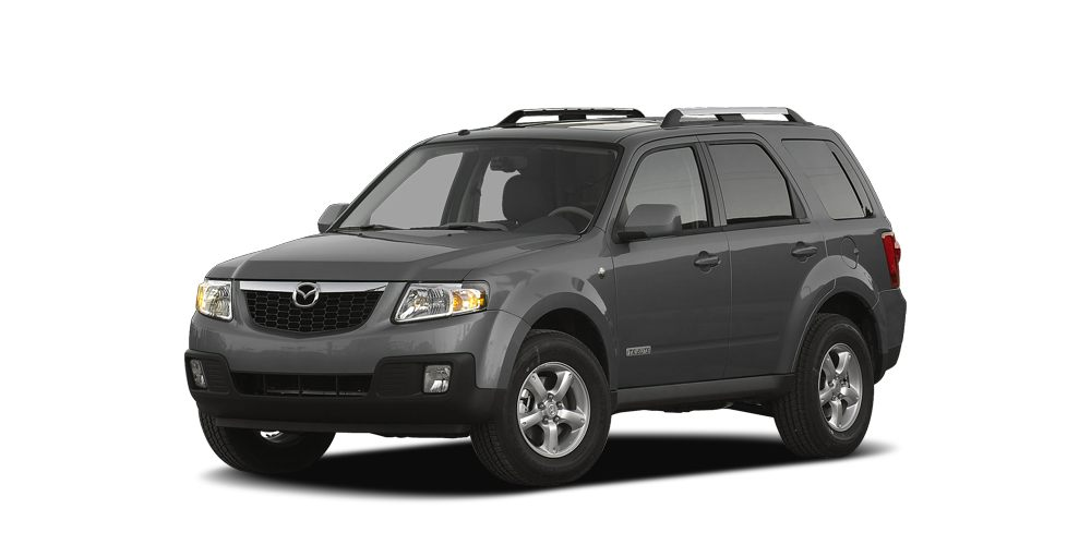 2008 Mazda Tribute Hybrid s Grand Touring Isnt it time for a Mazda Hold on to your seats Buy a
