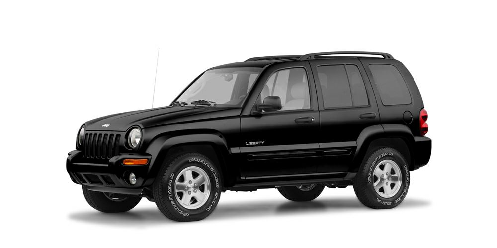 2004 Jeep Liberty Sport Miles 132460Color Black Stock 16EX46B VIN 1J4GL48K44W100263