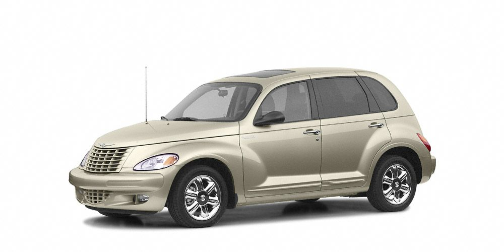 2004 Chrysler PT Cruiser Touring Miles 130602Color White Stock SB15724A VIN 3C4FY58B74T23809