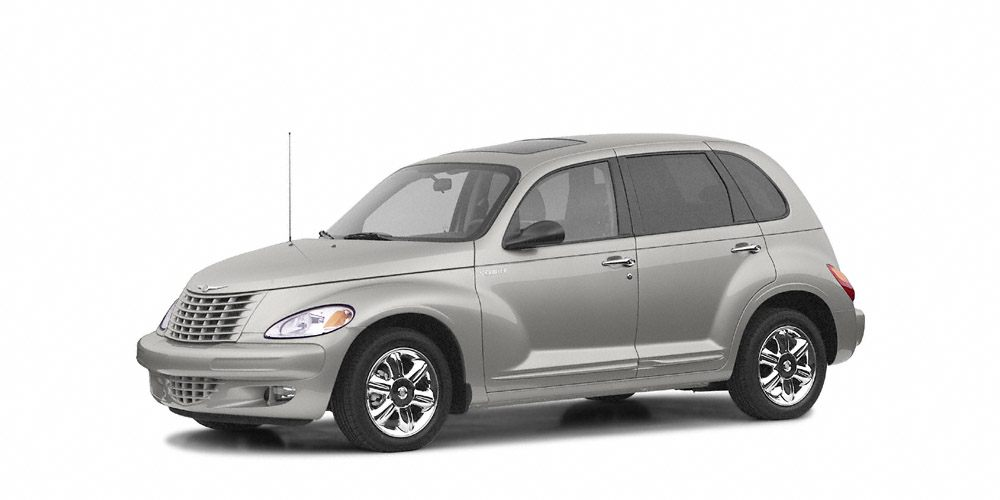 2004 Chrysler PT Cruiser Limited EPA 29 MPG Hwy22 MPG City Limited trim Leather Interior Sunro